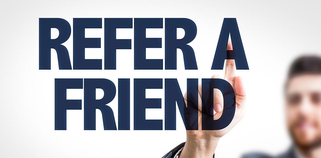 HMR - Refer a friend